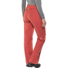 Marmot Lleida - Pantalones de Trekking Mujer - rojo